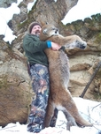 Russell Pond Outfitters Cougar Dec 2010