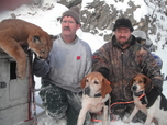 Joe Cabral Outfitter Mountain Lion cougar Hunting guide Outfitter russell Pond idaho
